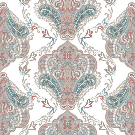 art and craft: Vintage oriental ornament pattern. Decorative ornament backdrop for fabric, textile, wrapping paper, card, invitation, wallpaper