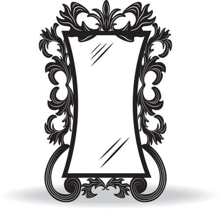 ornamented: Vintage ornamented frame. Vector decorated frame