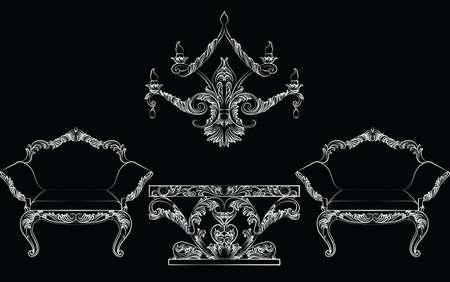 Carved chair foto royalty free, immagini, immagini e archivi ...