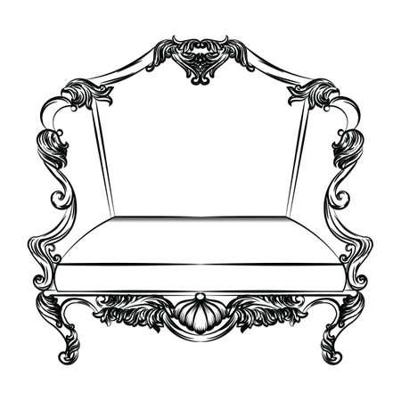 caoba: Fabuloso silla imperial barroca exquisita. Lujo francés rica intrincada estructura ornamentada. Victorian decoración real Estilo