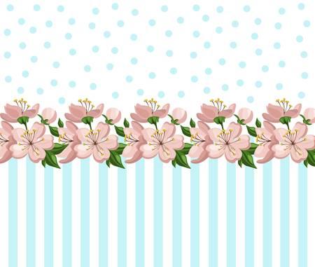 Vintage Roses Floral card Vector summer roses pattern. Hand drawn illustration