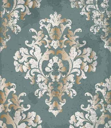 Vintage Baroque style background Vector. Luxury Delicate Classic ornament. Royal Victorian imperial decors