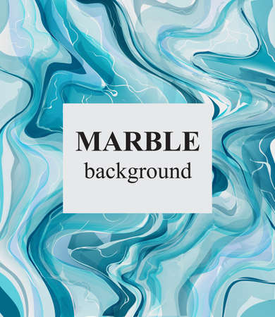 Blue turquoise marble background. Luxury stone pattern textures