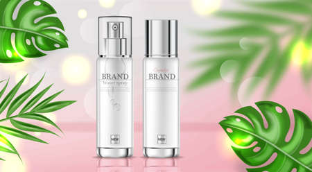 Cosmetics cream moisturizer hydration  realistic. Banque d'images - 122395093
