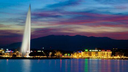 geneva: Geneva Sunset