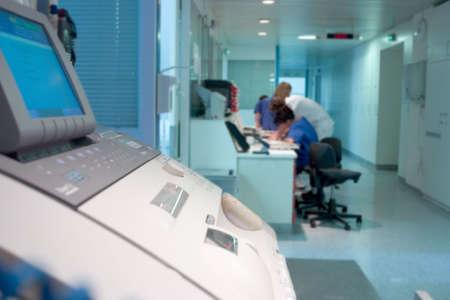 hallway inter inside a hospital Stock Photo - 782319
