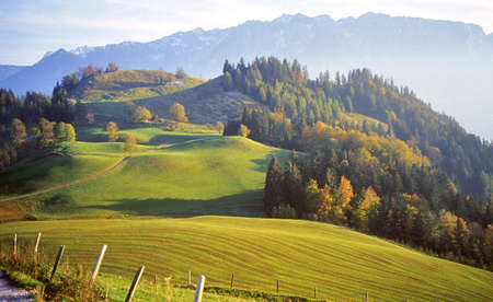 Landscape - Panorama of the Alp Stock Photo - 790692