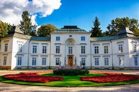 Lazienki Park in Warsaw, capital of Poland