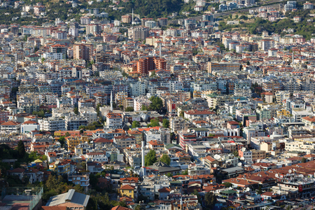 populous: Alanya, Turkey, April 23, 2015: Populous city of Alanya in Turkey at spring time