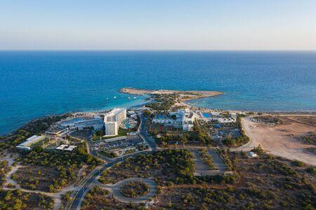 The Makronissos beach in Cyprus
