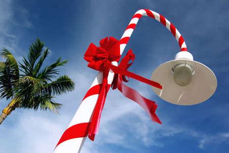 Christmas decoration in Key West (Florida, USA) Stock Photo - 5500076