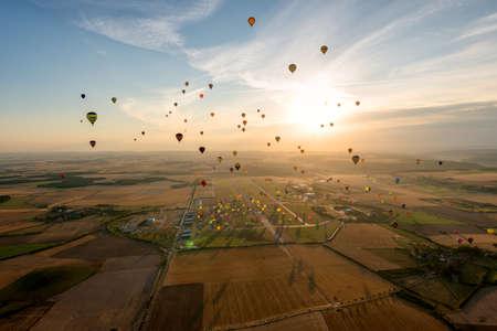 mondial: Europes largest hot air balloon event in France - Lorraine Mondial Air Balloon 2015. Editorial