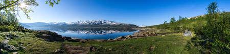 Hamlagrovatnet lake