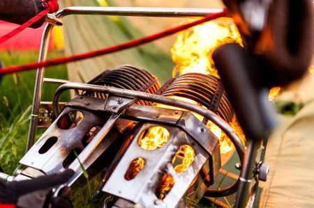 Burner Stock Photo