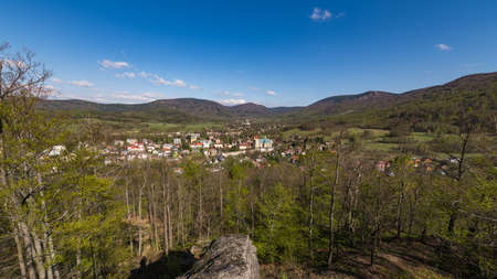 Triangl Viewpoint - Hermits Stone above Hejnice