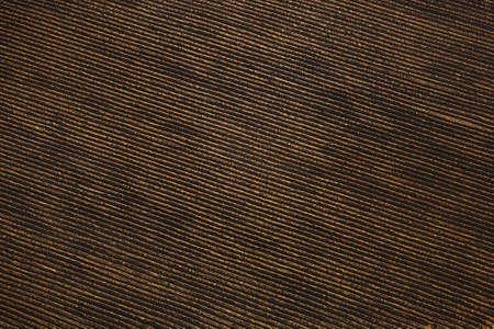 Plowed field in Czech Republic on aerial photo