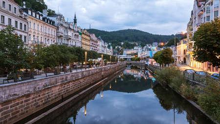 West Bohemian spa town of Karlovy Vary Reklamní fotografie