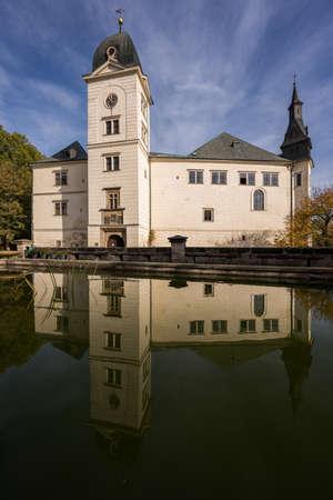 Autumn at Hruby Rohozec Castle near Turnov.