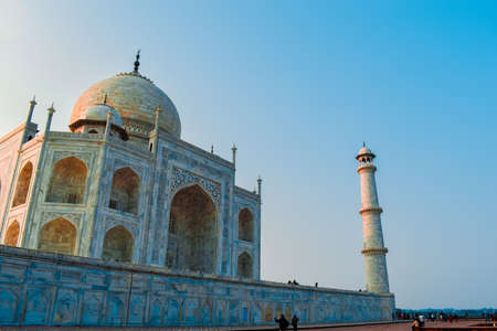 Taj Mahal, One of the Seven Wonders in the World.