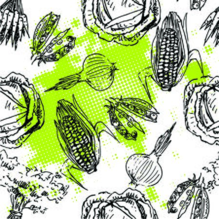 carots: Vegetables abstract background pattern.