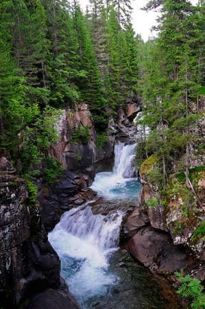 bourn: Mountain river Stock Photo