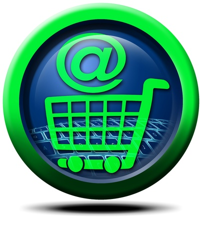3D globe icon and Internet @ Stock Photo - 9342026