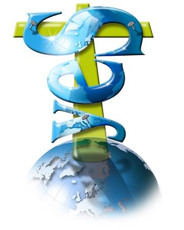 Written crucified yes, the certainty of Catholic faith photo