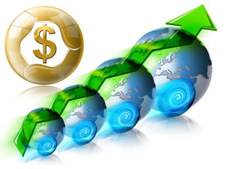 Locomotive dollar Business & Financial world positive photo