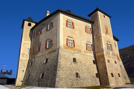 sumptuous: Thun Castle - ancient and sumptuous palace in Italy
