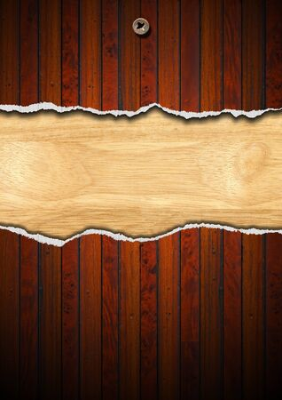 Cracked wooden vintage background with space for message Stock Photo - 15195605