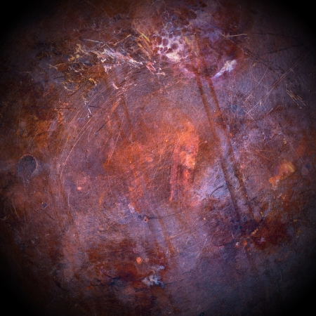 Grunge brown copper close-up for background Stock Photo - 15077366