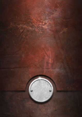Metallic grunge background with metal plate and bolts heads Stock Photo - 15077367
