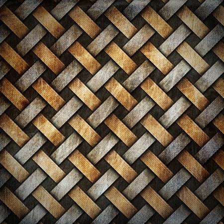 crisscross: Canvas crisscross diagonal grunge template brown grey and black
