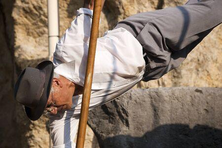 ancient tradition: Festival Internacional de Juegos en la calle - Verona septiembre 23-2012 - Exposici�n de Salto del Pastor tradici�n antigua y el deporte de las Islas Canarias