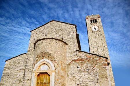romanesque: Interesting example of romanesque architecture in Valpolicella - Verona Italy