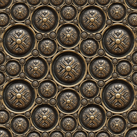 Texture of drawer of a beautiful carved floral work Reklamní fotografie - 18940267