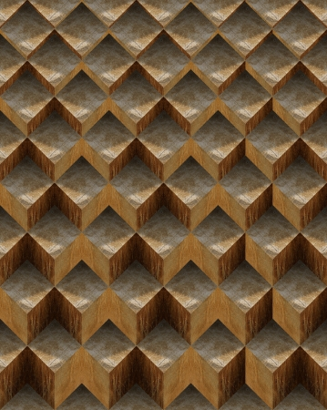 Grunge background to cover or page with brown geometrical forms Stock Photo - 19449121