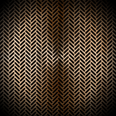 Metallic brown abstract background with grid and blacks holes photo
