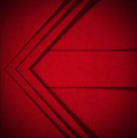 velvet texture: Invecchiato velluto rosso texture di sfondo con le forme geometriche e le ombre Archivio Fotografico