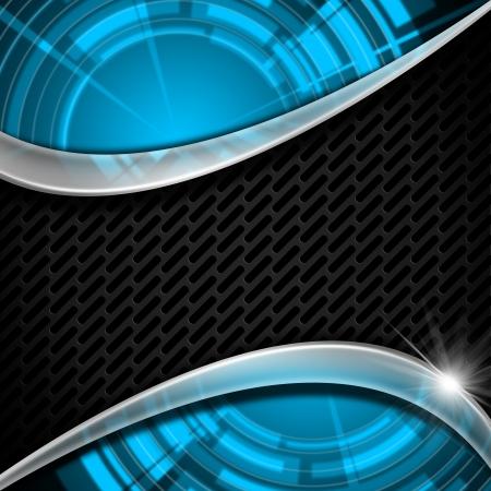 sectores: Resumen de fondo con dos �reas de color azul con sectores brillantes y el Sistema Interconectado Central gris oscuro
