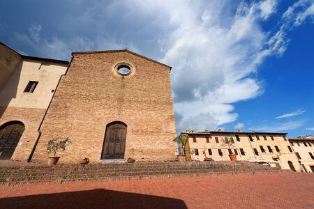 Facade of the Church of Sant photo