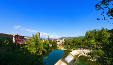 venezia: Natisone River, in the medieval town of Cividale del Friuli, Udine, Friuli Venezia Giulia, Italy