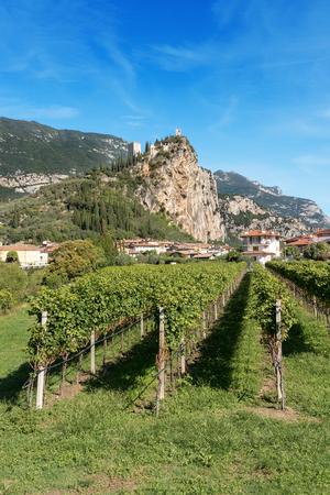 Arco di Trento, small town near the Lake Garda in the Sarca valley, Trentino Alto Adige, Italy, Europe