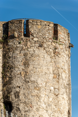 Castle of St. George (Castello San Giorgio) 1265-XIX century, Genoan military fortification in La Spezia, Liguria, Italy, Europe
