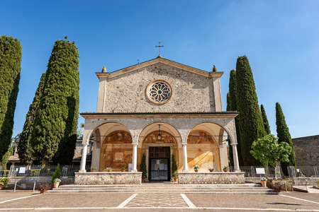 Sanctuary of the Madonna del Frassino (Virgin Mary of the ash tree - 1515) place of pilgrimage in Peschiera del Garda, Verona Italy Europe