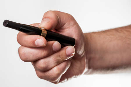 An electronic cigarette photo