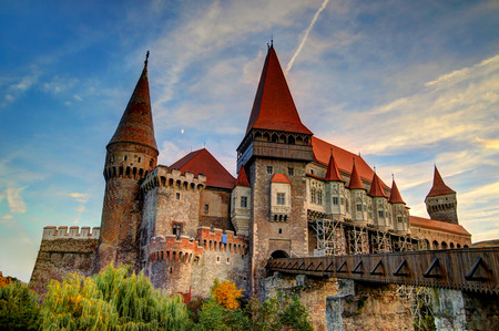 The Corvinesti castle also known as the Hunyad castle, is a Gothic-Renaissance castle in Hunedoara  Transylvania , Romania  Tourists are told that it was the place where Vlad III of Wallachia  commonly known as Vlad the Impaler  was held prisoner for 7 ye Editorial