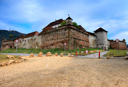 cetatuia: The Hill Citadel (Cetatuia de pe Straja), its located outside the Brasov Citadel and its was constructed in 1625 and in 1630 hes gaining the four bastions in the corners. In the XVII century hes losing his military importance and becomes one of the mo