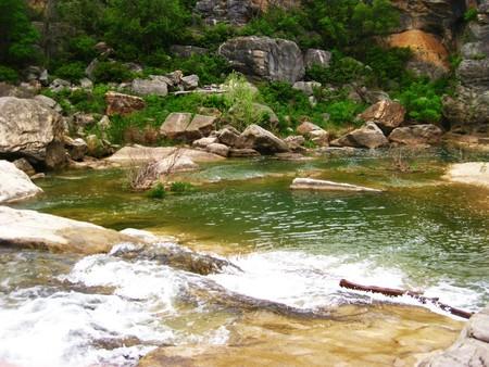 Pedernales River, Austin, Texas Stock fotó