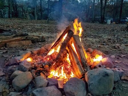 Campfire at Horse Pens 40, Alabama